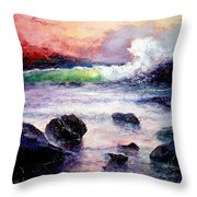 Fire And Water 1.0  Throw Pillow