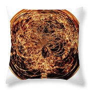 Fire Ball Throw Pillow
