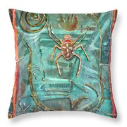 Fire Bearer Throw Pillow