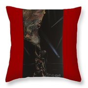 Fire Breather Throw Pillow