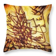 Fire Contract Throw Pillow