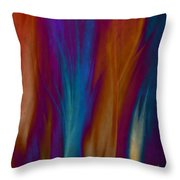 Fire Dance Throw Pillow