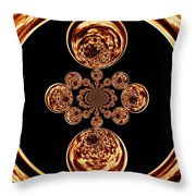 Fire Design Throw Pillow