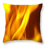 Fire Desire Mesmerized San Francisco Autumn Warmth Baslee Troutman Throw Pillow