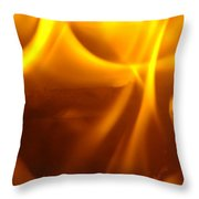 Fire Desire Seattle Art Mesmerizing Autumn Warmth Baslee Troutman Throw Pillow
