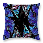 Fire Escape 5 Throw Pillow