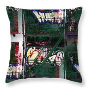 Fire Escape 6 Throw Pillow