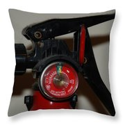 Fire Extinguisher Throw Pillow