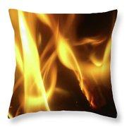 Fire  Feuer Throw Pillow