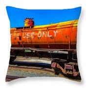 Fire Fighting Tanker Throw Pillow