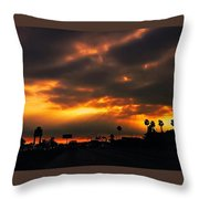 Fire From The North Throw Pillow