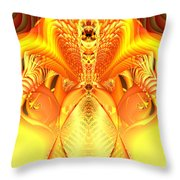 Fire Goddess Throw Pillow