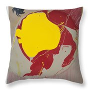 Fire Hydrant Crab Rocket Throw Pillow