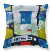 Fire In The Belly Throw Pillow