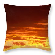 Fire In The Sky 3 Throw Pillow
