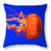 Fire In Water Throw Pillow
