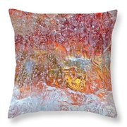 Fire Inside Throw Pillow