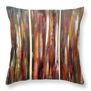 Fire Of Desire Throw Pillow
