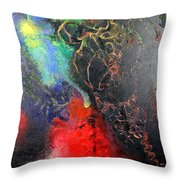 Fire Of Passion Throw Pillow
