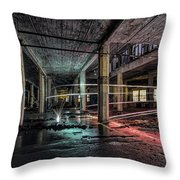 Fire Over Ice Throw Pillow