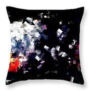 Fire Paper And Wind Throw Pillow