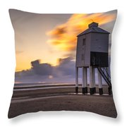 Fire Skies Throw Pillow