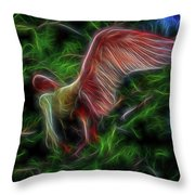 Fire Spirit 2 Throw Pillow