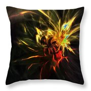 Fire Spirit Throw Pillow