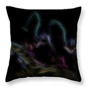 Fire Spirits 4 Throw Pillow