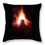 Fire Starter Throw Pillow