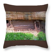 Fire Temple - Mesa Verde Nationalpark Throw Pillow