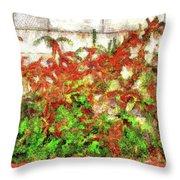 Fire Thorn - Pyracantha Throw Pillow