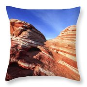Fire Wave Throw Pillow by Chad Dutson