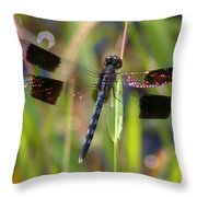 Fire Wing Dragon Throw Pillow
