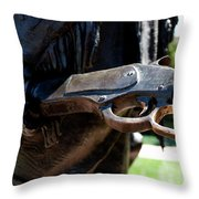 Firearms William Cody Statue Cody Wyoming Throw Pillow