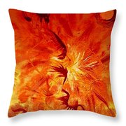Firebrand Throw Pillow