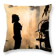 Firefighter 4473 Throw Pillow