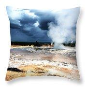 Firehole Lake 2 Throw Pillow
