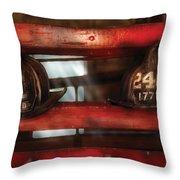 Fireman - A Salute To The Firefighter Throw Pillow