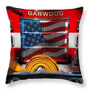 Fireman - I'll Put Your Fire Out Throw Pillow by Mike Savad