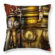 Fireman - The Steam Boiler  Throw Pillow
