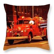 Fireman's Parade No. 3 Throw Pillow