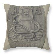 Firemark Throw Pillow