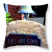 Firemen Memorial Throw Pillow