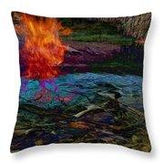 Firenwater Throw Pillow