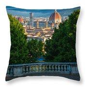 Firenze Vista Throw Pillow