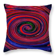 Fires Of Evil Wants Mother Earth Throw Pillow