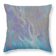 Fires Of Revival Throw Pillow