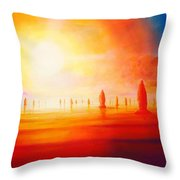 Firestone Throw Pillow
