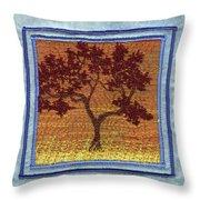 Firetree2 Throw Pillow